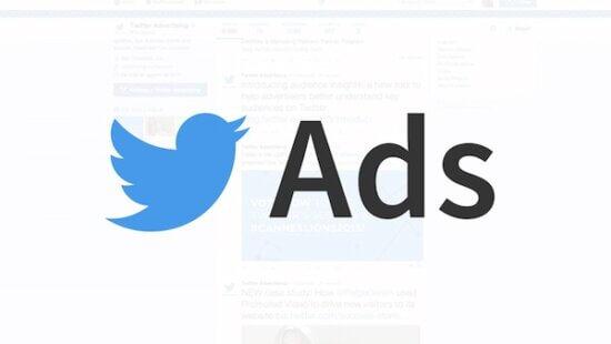 Publicités Twitter